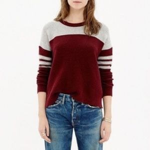 Madewell Varsity Thermal Pullover Sweater